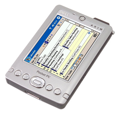 Axim X30 под Windows Mobile 2003 SE: Dell cделала это первой!