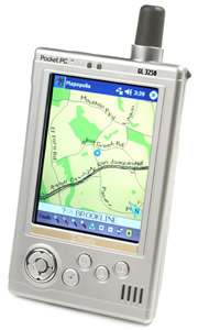 Gold Lantern GL3250: недорогой Pocket PC с приемником GPS